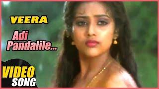 Aathile Annakili  Song | Veera Tamil Movie | Rajinikanth | Meena | Ilayaraja | Music Master