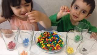 Развивающие игры Учим цвета на русском и английском Видео для детей