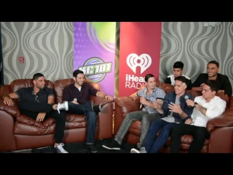 JUSTICE CREW INTERVIEW AT KC101'S SUMMER FLING 2014