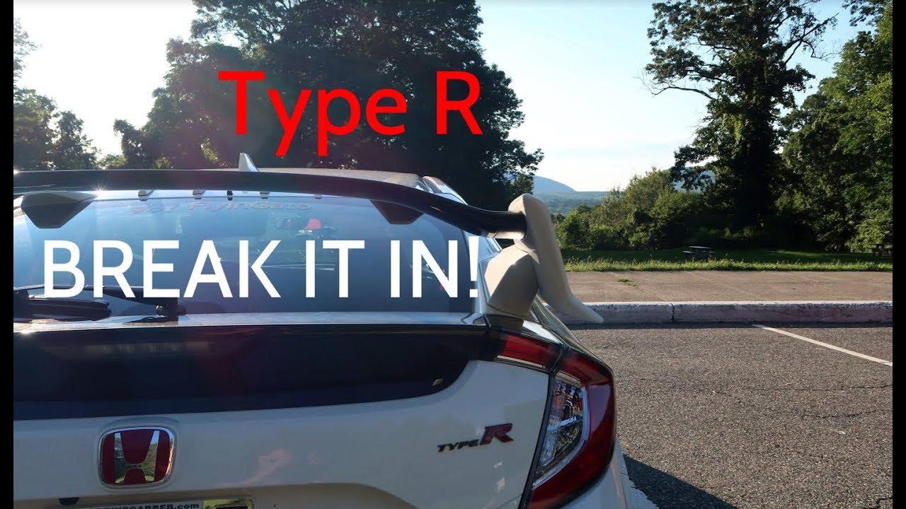 2017 Honda Civic Type R Breaking Her In
