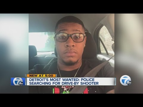 Detroit's Most Wanted: Man wanted for mudering father in drive-by shooting