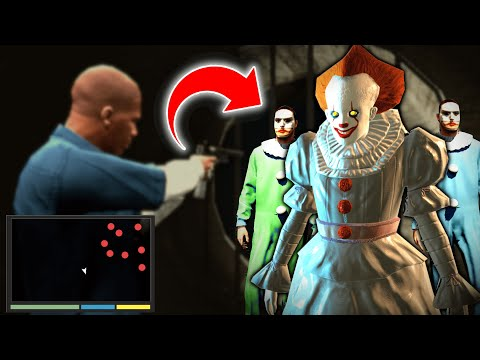 We Found PENNYWISE And Secret CREEPY CLOWN ARMY In GTA (This Was Scary) - GTA 5 Mods Funny Gameplay