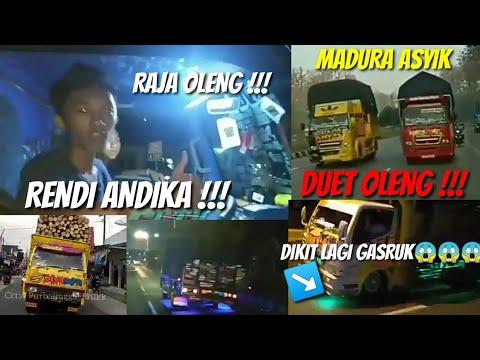 DUET OLENG TRUK CABE FULL OLENG | MANIAK CCTV | AKSI RENDY ANDIKA DAN MADURA ASYIK SAAT DI MANIAK |