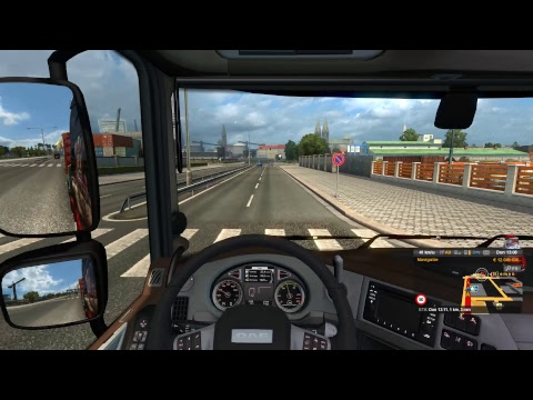 Cruisin' with Danté ... ETS2 Grand Gift Delivery 2017 to Bremen (D)