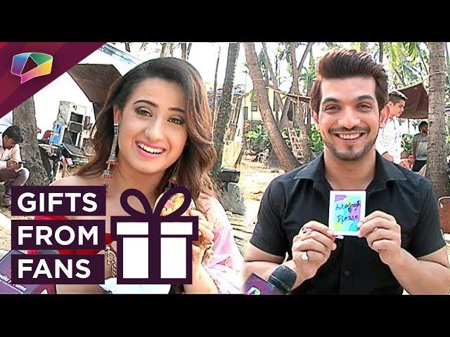 Arjun Bijlani And Alisha Panwar Receive Gifts From Fans | Exclusive