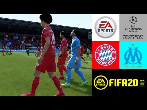 FIFA 20: CL Testspiel - FC Bayern München - Olympique Marseille - Prognose 2020 l Deutsch [NULL HD]