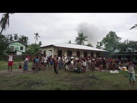 Combates em Mianmar deixaram quase 400 mortos