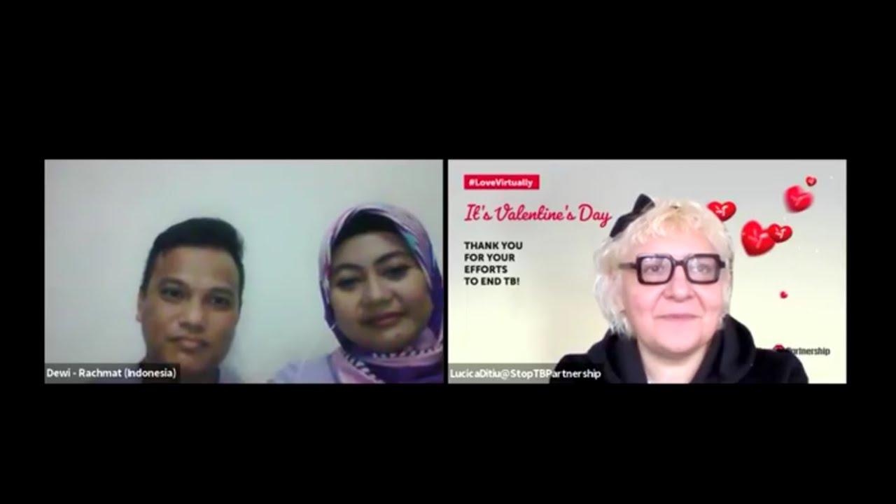 It's Valentine's Day - Stop TB Partnership Bincang LIVE dengan Pasangan dari Indonesia