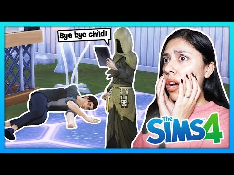 MY SON IS DEAD! - The Sims 4 - My Sims Life - Ep 45 thumbnail