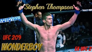 EA UFC 2 RANKED STEPHEN THOMPSON