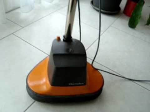 Electrolux b23 floor polisher 1982 youtube for Floor polisher