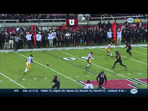 2014 Utah vs. USC - Return of fumbled lateral pass