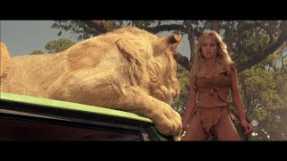 Sheena (1984) - 3 - One of the best animals scene in movies ever (no CG)