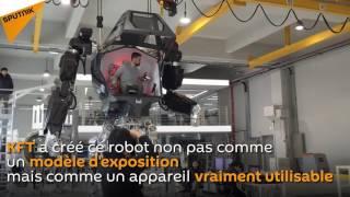 Un robot géant créé en Corée du Sud