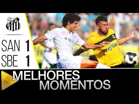 Santos 1 x 1 São Bernardo | MELHORES MOMENTOS | Paulistão (30/01/16)