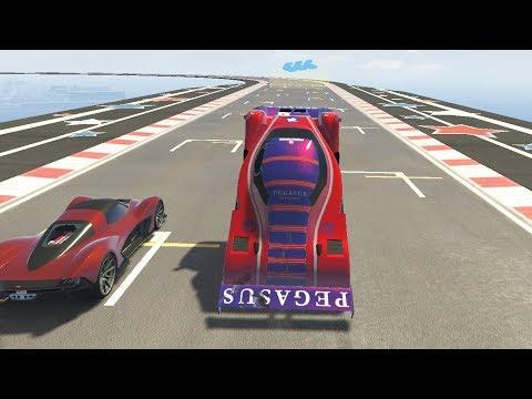 GTA 5 #369 BAKHJUL MED BIL