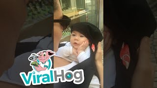 Sweet Baby Loves to Hear Mom Sing || ViralHog thumbnail