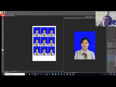 Làm ảnh thẻ 3×4 CMND đơn giản bằng photoshop