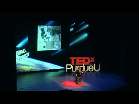 Mom and Mrs. Wade: Christine Taylor at TEDxPurdueU 2014
