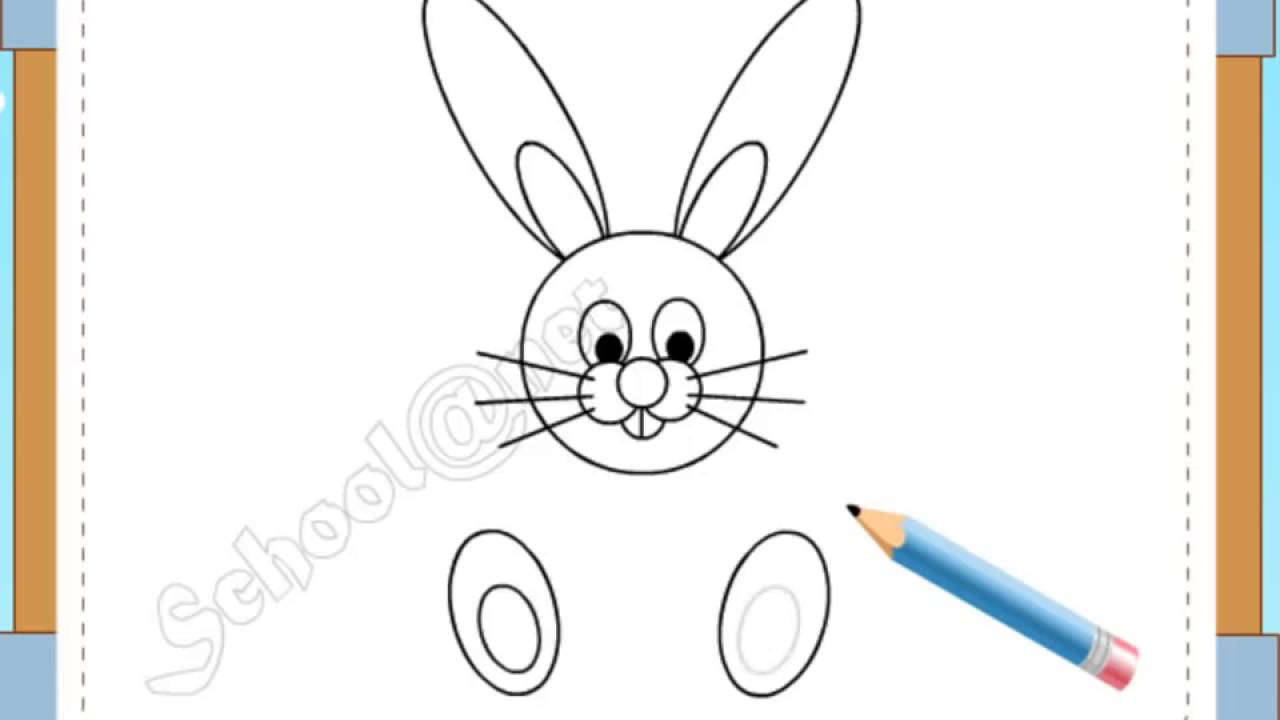 How To Draw Rabbit,quick Draw And Beautiful Rabbit