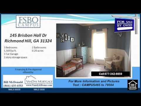 3 bedroom Home for sale near Richmond Hill Elementary School in Richmond Hill GA