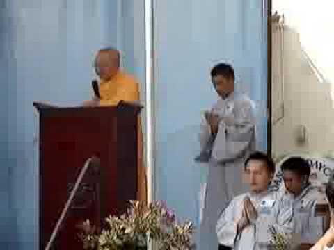 Đại Lễ Thọ Tang Đại Lão HT Thích Huyền Quang, 12-7-08