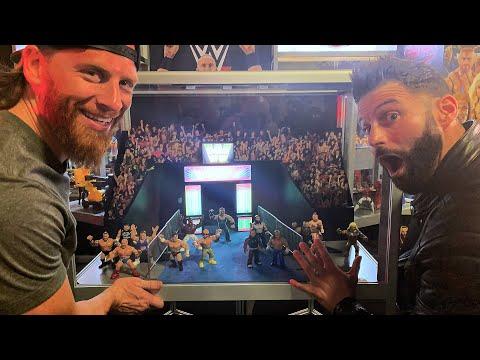 Zack Ryder & Curt Hawkins take over the Mattel display at WrestleMania Axxess