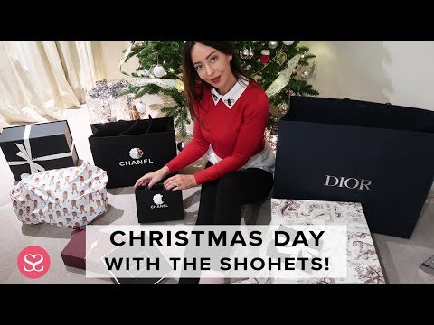 CHRISTMAS WITH THE SHOHETS! Opening Luxury Gifts   Sophie Shohet