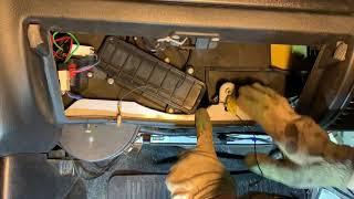 Замена радиатора печки 31105 (3102) дорестайл на волге