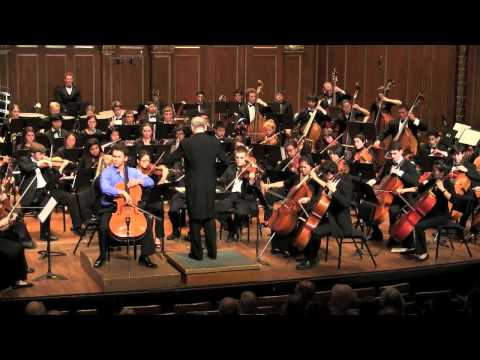 Dvorak Cello Concerto:  Finale | Jonah Ellsworth, cello
