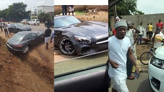 Breaking - Shatta Wale Involved In Fatal Car Accident