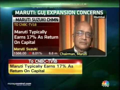 Suzuki owning Gujarat plant more profitable for us: Maruti -  Part 1