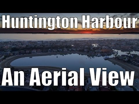 Huntington Harbour - An Aerial View