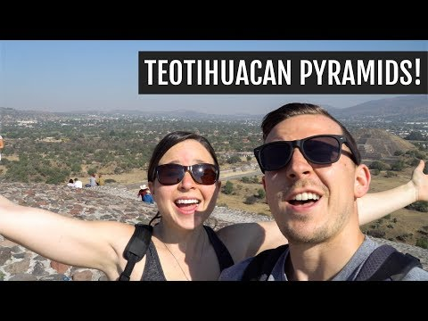 Teotihuacan, Churros, & Doggos! | Mexico City Day 2