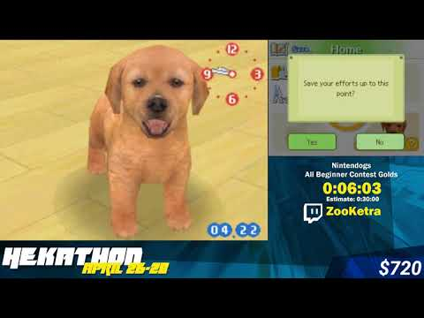#HEK19 - Nintendogs All Beginner Contest Golds by Zooketra
