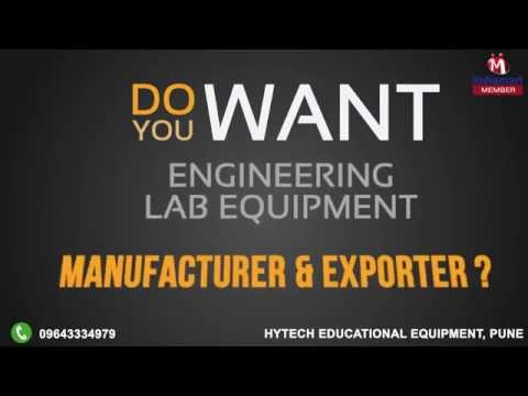 Engineering Lab Equipment By Hytech Educational Equipment, Pune