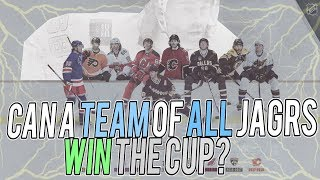 Can a Team of all Jaromir Jagrs win the STANLEY CUP?! NHL 18 Franchise Mode Simulation