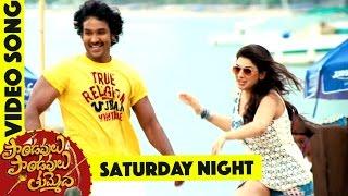 Saturday Night Song    Pandavulu Pandavulu Tummeda Full Video Songs    Mohan Babu, Vishnu, Hansika