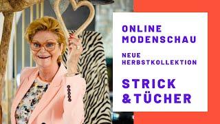 Online Modenschau // Strick & Tücher aus der neuen Herbstkollektion