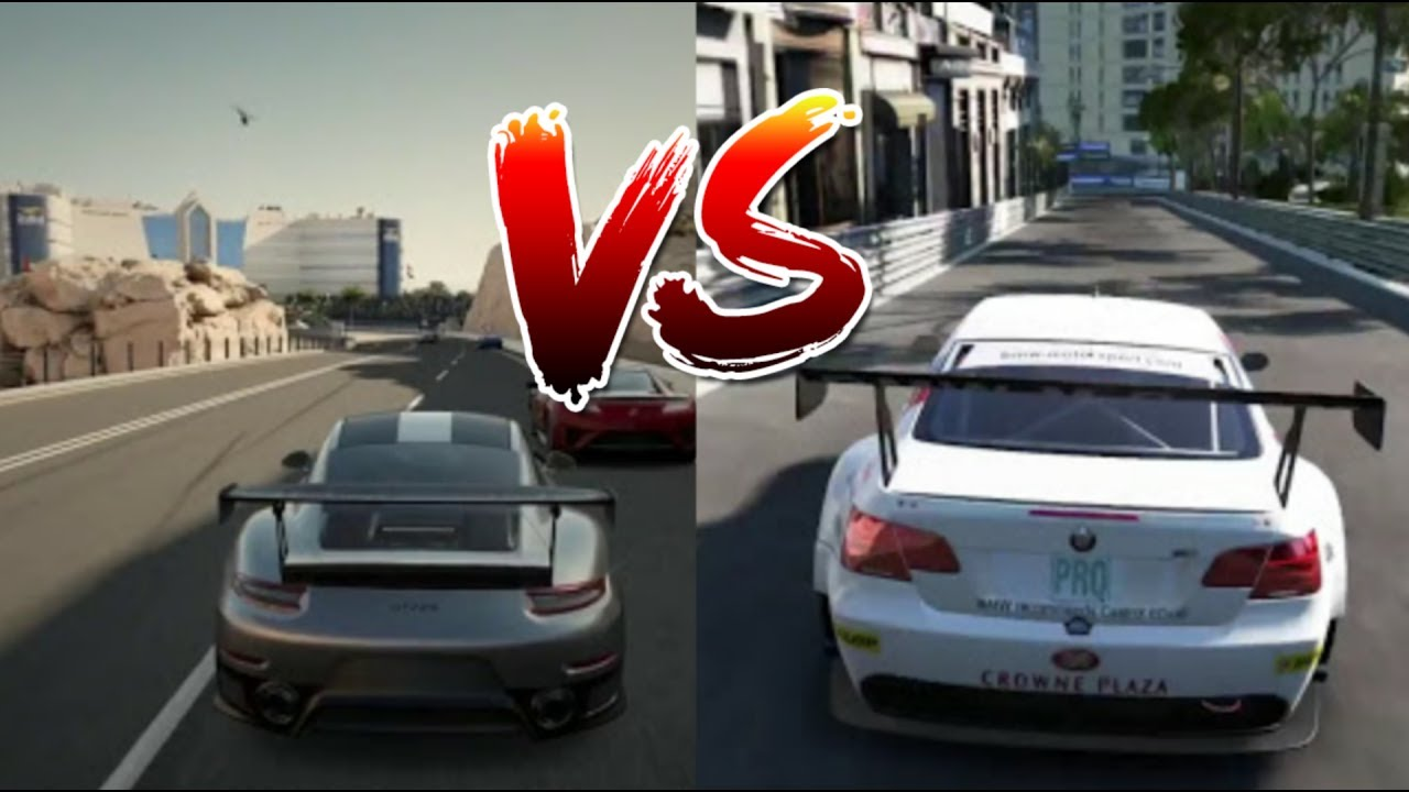 forza 7 vs gt sport xbox one x vs ps4 pro graphics youtube. Black Bedroom Furniture Sets. Home Design Ideas