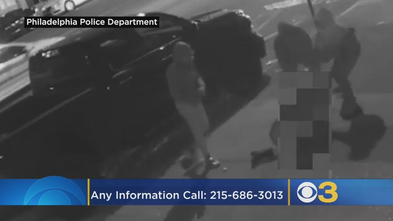 VIDEO: Police search for naked man caught on camera trying