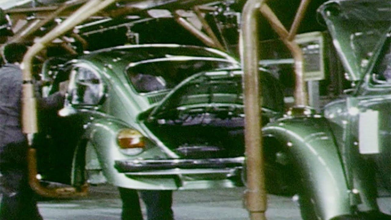 1973 Volkswagen Beetle PRODUCTION - YouTube