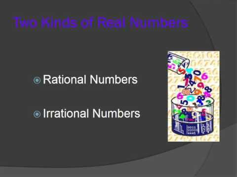 maths real numbers ppt youtube