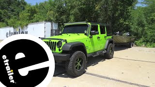 Rampage Custom Towing Mirrors Review - 2013 Jeep Wrangler Unlimited