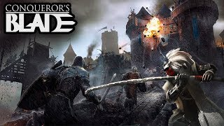 New Free To Play Medieval Game With EPIC Sieges - Conqueror's Blade Closed Beta
