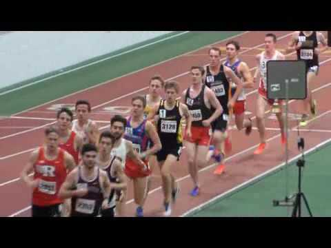 Boston University David Hemery Valentine Invitational 2017 / 3000m men