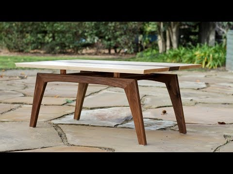 Building a Midcentury Modern Coffee Table -- Shaun Boyd Made This
