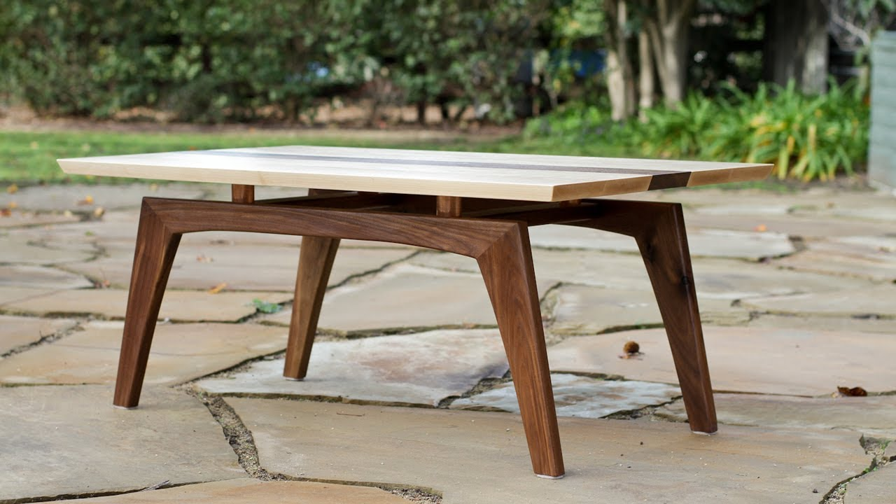 building a midcentury modern coffee table shaun boyd made this