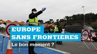 LE DÉBAT - Europe sans frontière : le bon moment ?