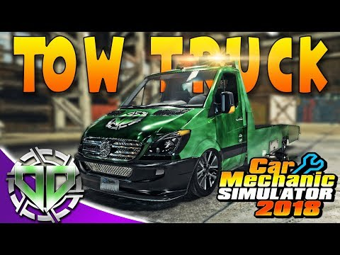 Car Mechanic Simulator 2018 : Mercedes Ben Tow Truck! (PC Let's Play)